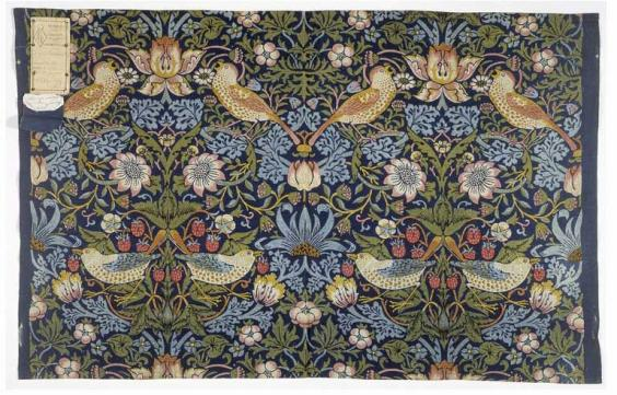 William Morris Who Was The Artist And Textile Designer In