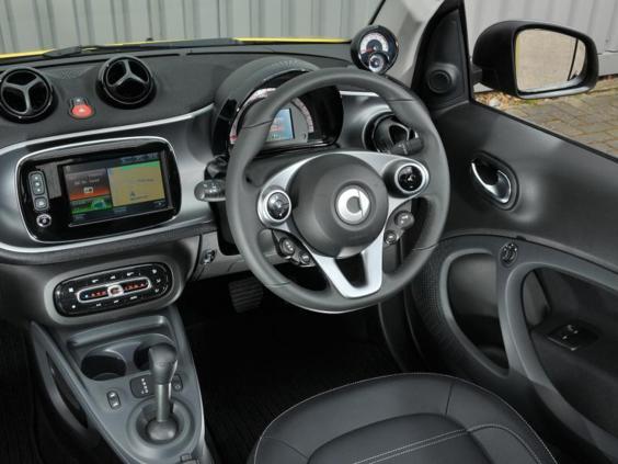 Smart Fortwo Cabrio 71 Prime Twinamic Car Review A City