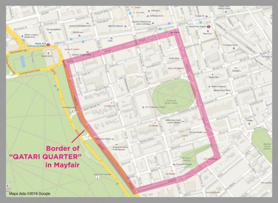 Who owns London Qatari_quarter_mayfair