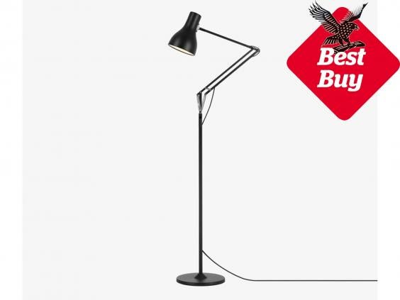 10 best floor lamps | The Independent:A patented system of springs and weights gives each lamp flowing movement  and total adjustability. Type 75 is a floor ...,Lighting