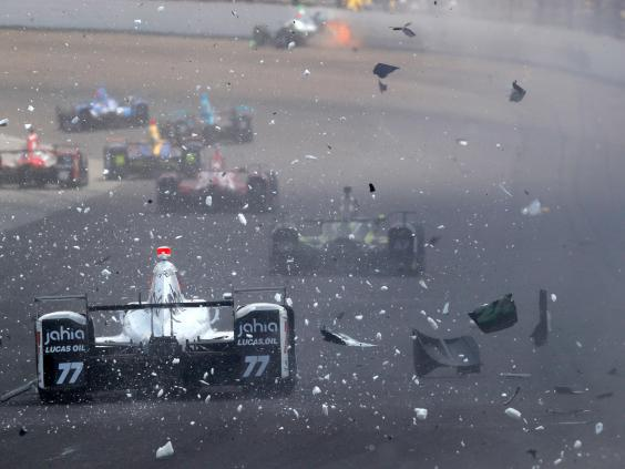 Indy 500: Alexander Rossi secures stunning rookie victory ...
