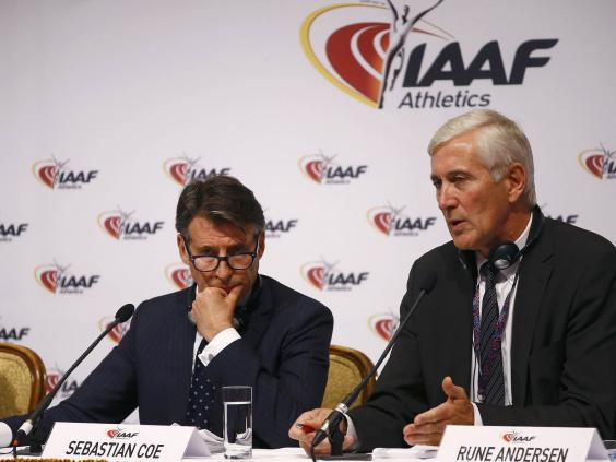 Lord Coe 'made aware' of Russian Federation doping scandal allegations
