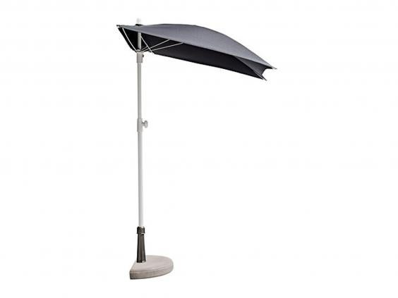 Patios And Balconies Are Also Opportunities To Enjoy The Sun, And IKEAu0027s  Space Saving Budget Parasol Is Made For Just That. It Can Be Placed Flat  Against ...