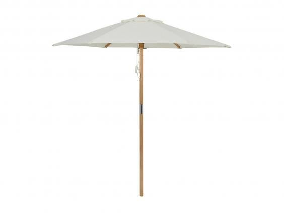 A 2 Metre Diameter Canopy Makes This Wooden Parasol From John Lewis A Good  Buy For Smaller Gardens. As A Lightweight Option, Itu0027s Also Easier To  Handle For ...