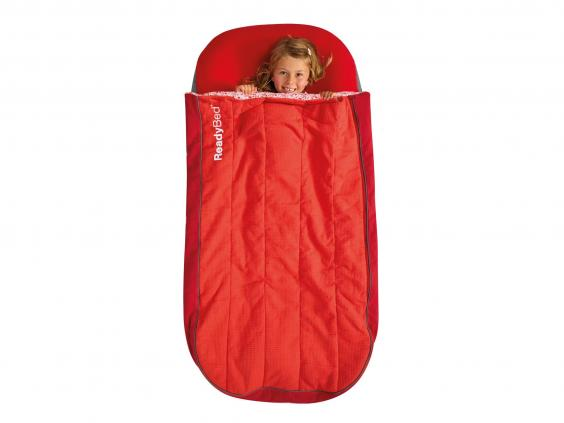 No Need For Kids To Miss Out On The Fun With This Junior Bed That Also Has A Cotton Machine Washable Sleeping Bag Built Into It