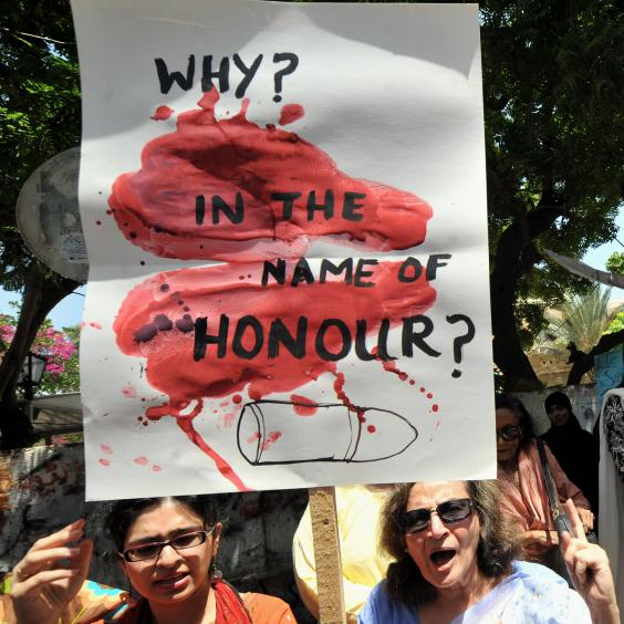 honor killings Lahore, pakistan - for two months, over the thunder of machines at the steel mill, the men taunted mubeen rajhu about his sister even now, they laugh at how easy it was to make him lose his.