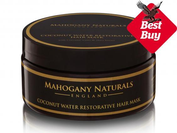 Mahogany Naturals Coconut Water Restorative Hair Mask