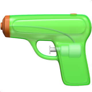 ios 10 apple replaces gun emoji with a water pistol and. Black Bedroom Furniture Sets. Home Design Ideas