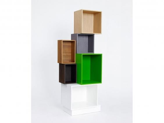 German company Cubit offers 38 different modules of shelving in eight  different depths and a rainbow of colours. The MDF boxes are sized  specifically for ...