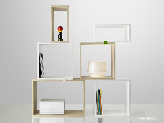 The System Can Be As Big Or Small You Like And Because They Are Not Wall Mounted These Shelves Make An Excellent Room