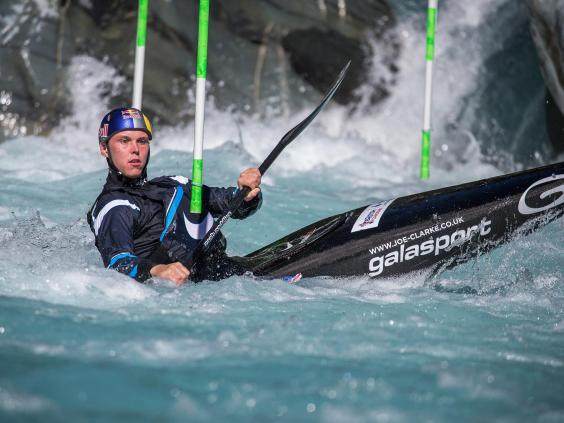 Joe Clarke (canoeist) Rio 2016 Joe Clarke goes to the extremes in the pursuit of Olympic