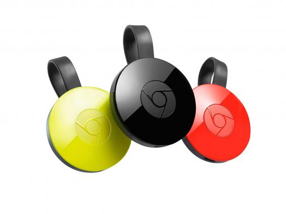 google chromecast   colours jpg The Independent
