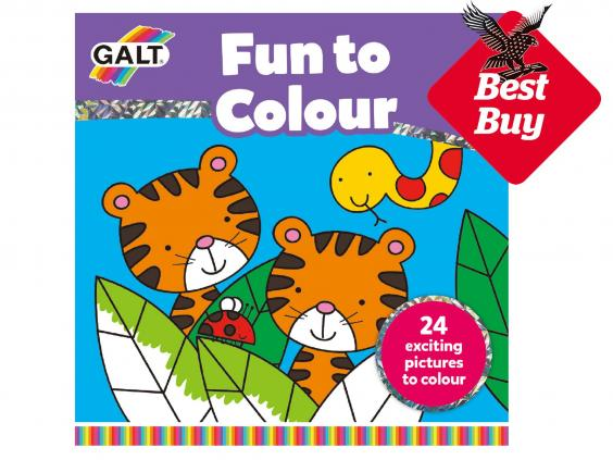Online Colouring Pages For 7 Year Olds : 10 best colouring books for kids the independent