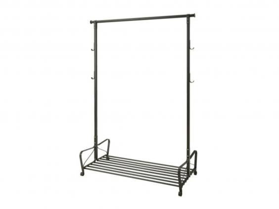 9 best clothes rails the independent for Clothes rail on wheels ikea