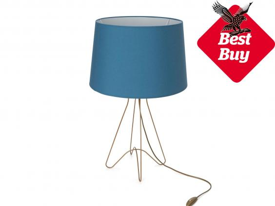 9 best bedside lamps the independent the avintes lamp is a well priced but stylish beside option that combines a coloured shade with a wrought iron base made by a small portuguese manufacturer mozeypictures Images