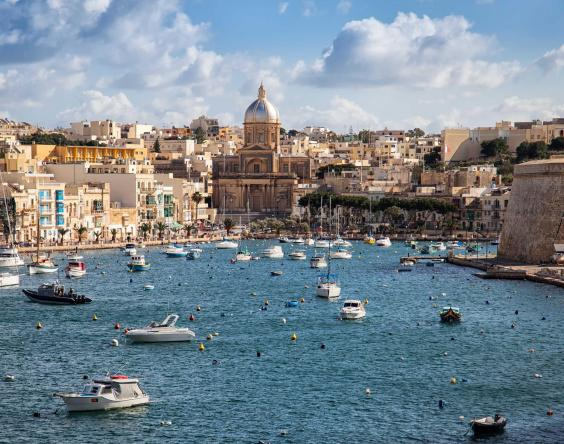 Valletta, the Maltese capital