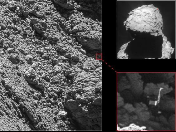 Philae lander found on comet almost two years after going ...