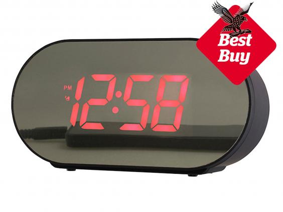 9 best alarm clocks for students the independent. Black Bedroom Furniture Sets. Home Design Ideas