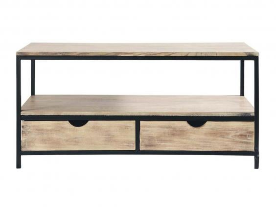 10 best tv stands the independent - Meuble industriel maison du monde ...