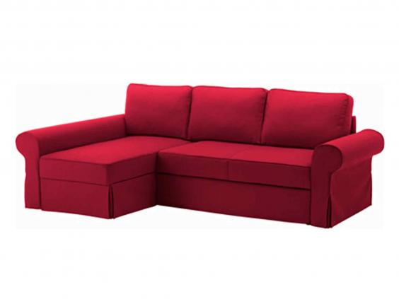 ikeaus solution for combining corner sofa and bed is neat and practical u including hidden storage space under the chaise longue section for pillows and