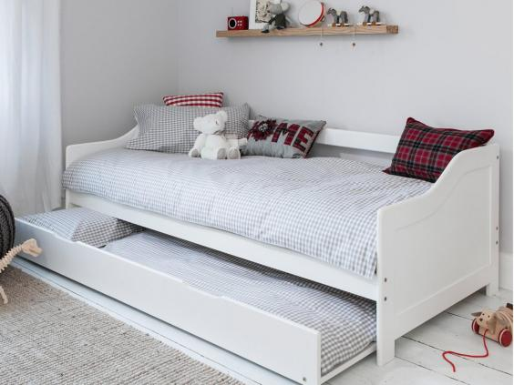 Designed For Kids, The Hove Bed Comes In White Painted Pine And Has A  Pull Out Spare Bed Underneath That Makes It Ideal For Hosting Last Minute  Sleepovers.