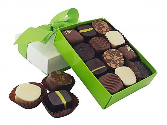 18 best luxury chocolate boxes the independent for Food bar manufacturers uk