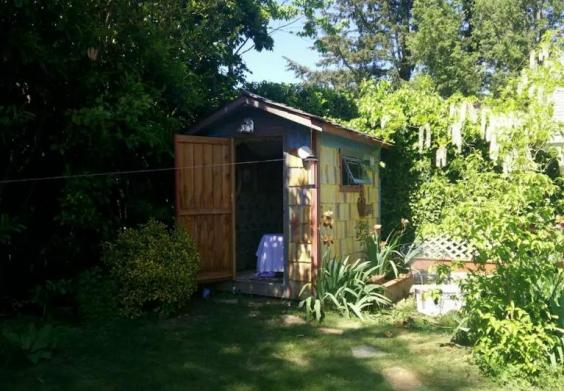 A Bed in A Shed   and other unusual Airbnb rentals