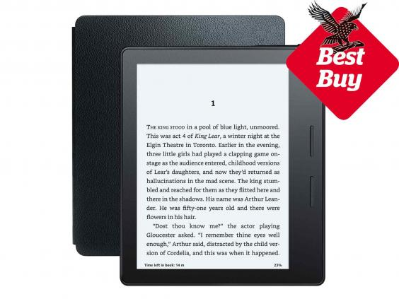 9 best ebook readers the independent amazon kindle oasisg fandeluxe Epub
