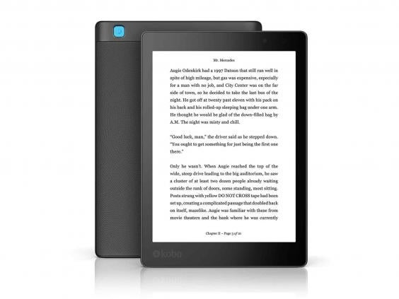 9 best ebook readers the independent kobo aura oneg fandeluxe Epub