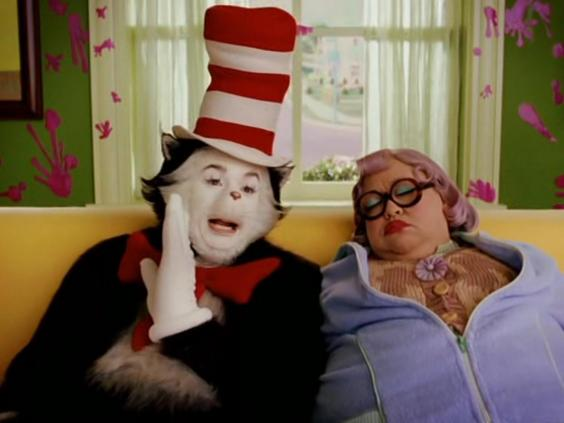 Cat In The Hat Behind The Scenes Makeup