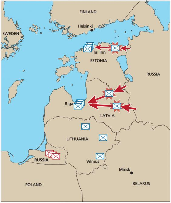 Russia could overrun Baltic states in 36 hours if it wanted to Nato