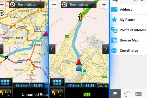 Free Satnav Apps Whats The Best Free Navigation App For Your - Gps navigation uk and us maps