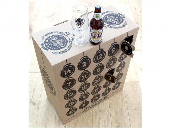 Craft Beer Advent Calendar With Glass