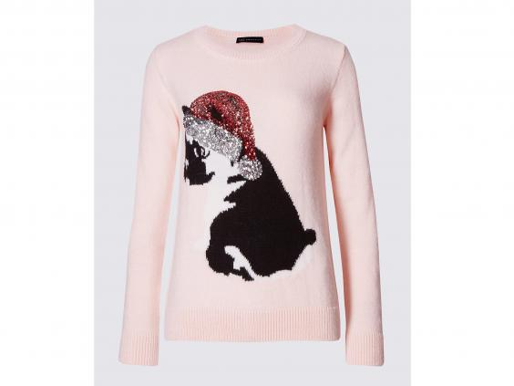 10 best women 39 s christmas jumpers the independent. Black Bedroom Furniture Sets. Home Design Ideas