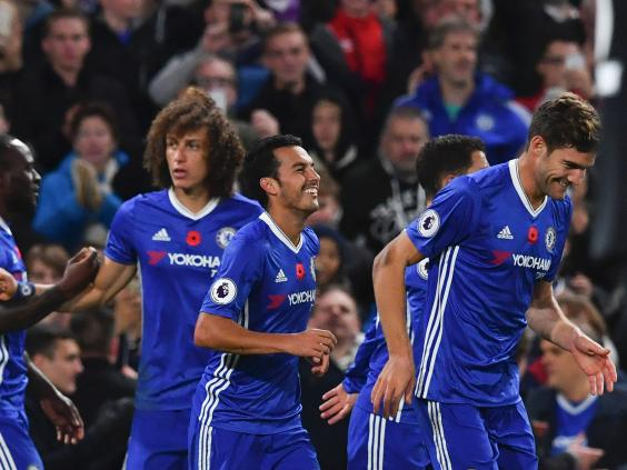 Chelsea go top of the Premier League with sixth straight win