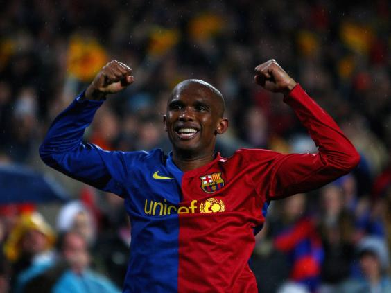 Ex Barcelona striker Eto'o risks jail over tax fraud