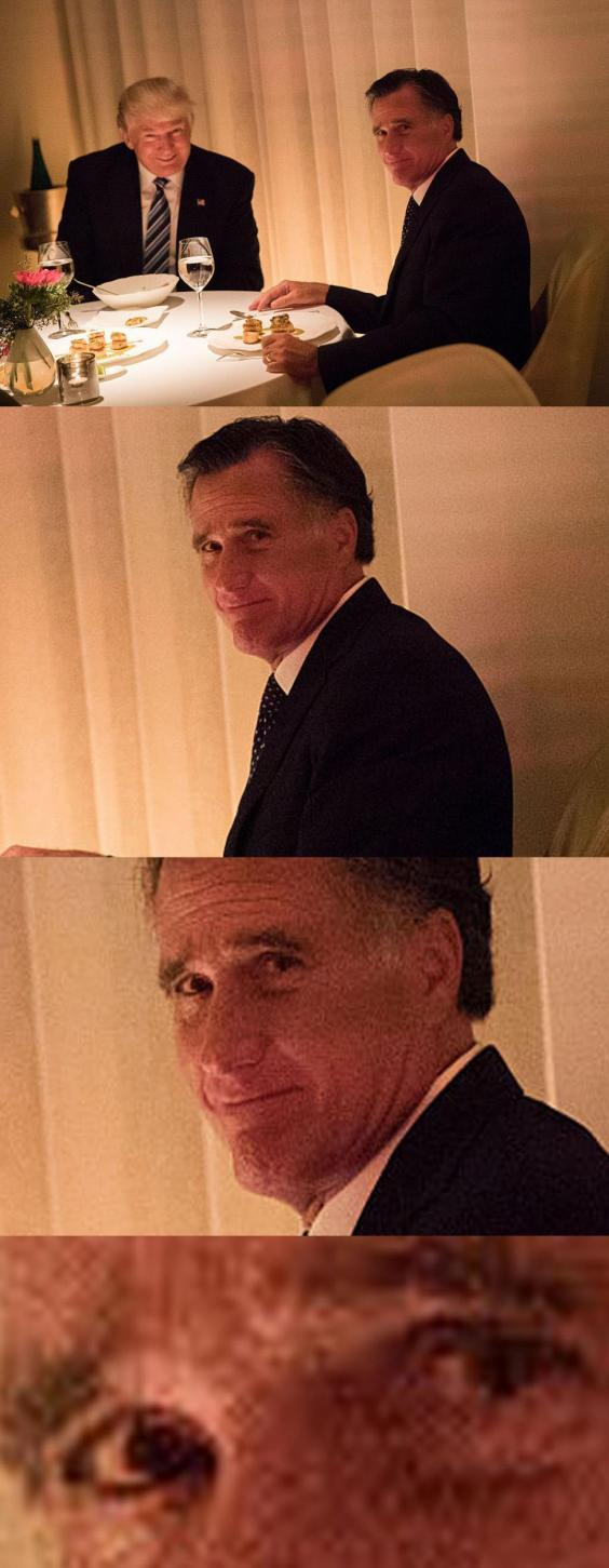 Mitt Romney Is Serial Killer >> Someone has identified the exact moment these politicians realised they'd sold their soul to ...