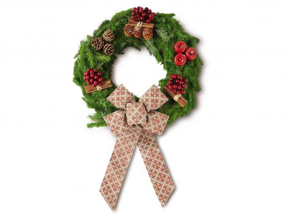 Christmas Decorations At Aldi : Best real wreaths the independent