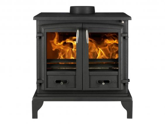 Multi fuel or wood burning stove - Valor Baltimore Multi Fuel Stove 163 679 Homebase