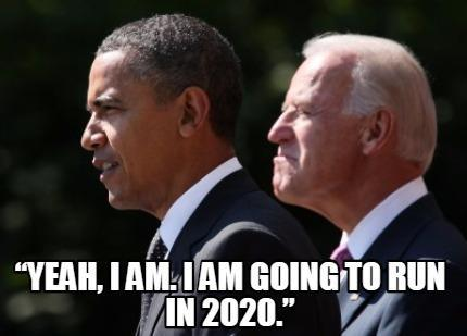 Joe Biden said he might run for president in 2020 - and ...