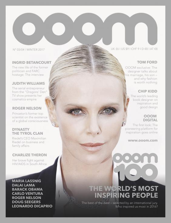 cover Ooom Magazine the world's most inspiring people