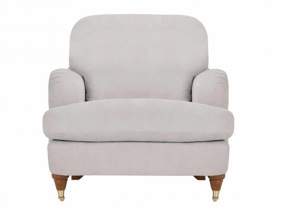 The Typical Style Of This Armchair Is One Youu0027ll See In Many Versions U2013  George Homeu0027s Natalie Chair Makes A Good Stab Of It For The Price.