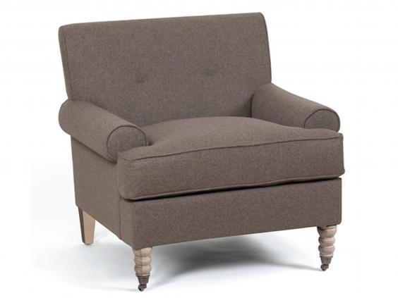 Neptuneu0027s George Armchair Has A Balance Of Tradition And Modernity That  Should Make It At Home In Most Interiors. Its Boxy Profile, Mid Height Back  And Low ...