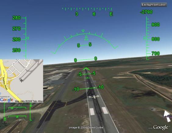 Play Airplane Game Google Earth