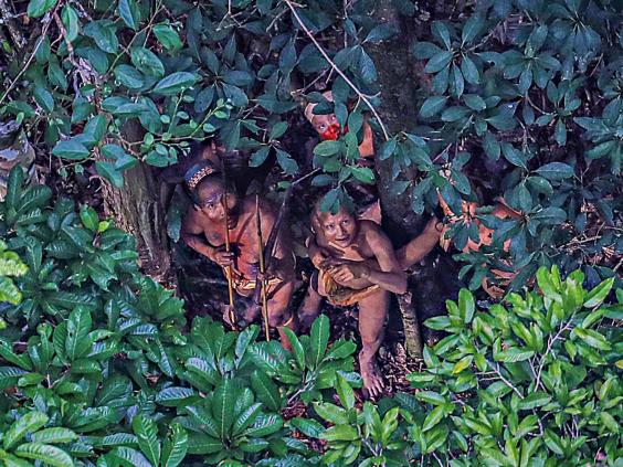 Image result for lost Amazonian tribe