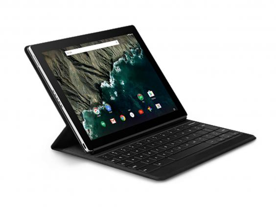 this is own tablet so it uses pure android with no extra software or features that some provide the 102inch screen is vivid and