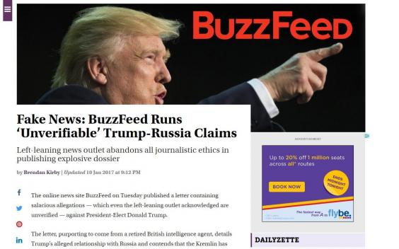 article donald trump rebutted fake news buzzfeed allegations denied laura ingraham
