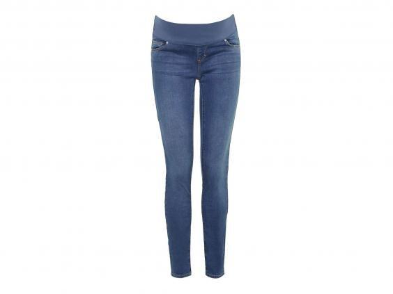 ... Topshop/H&M Maternity jeans bundle. Image 1 of 3
