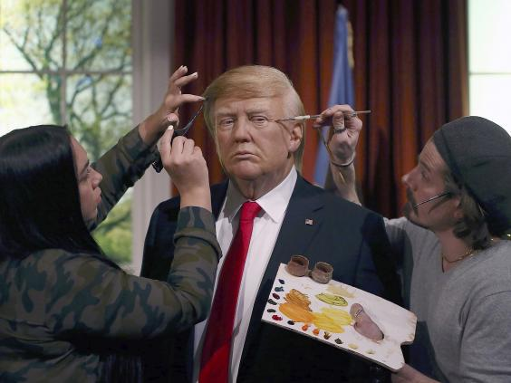 Donald Trump wax statue unveiled at Madame Tussauds in NY