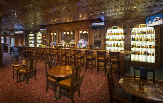 Cascades Restaurant Stanley Hotel